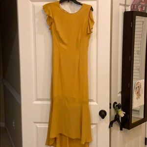 Hope & Ivy Yellow Dress (ASOS)